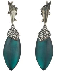 Alexis Bittar - Crystal Cluster Ovoid Drop Earrings - Lyst