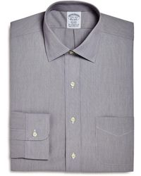 Brooks Brothers - Micro Stripe Regular Fit Dress Shirt - Lyst