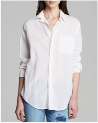 Current/Elliott - Shirt - The Prep School - Lyst