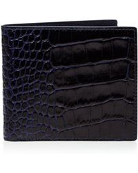 Smythson   Mara Printed Calf Leather Wallet   Lyst