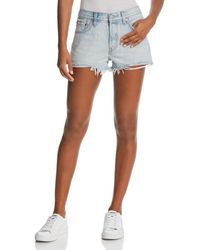 Levi's - 501® Denim Shorts In Bleached Authentic - Lyst