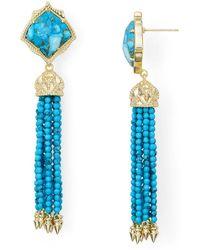 Kendra Scott - Misha Tassel Earrings - Lyst