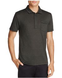 Billy Reid - Smith Short Sleeve Polo Shirt - Lyst