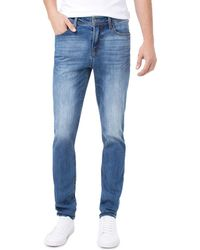 f69e5aff7e Liverpool Jeans Company - Kingston Slim Straight Fit Jeans In Bryson  Vintage - Lyst