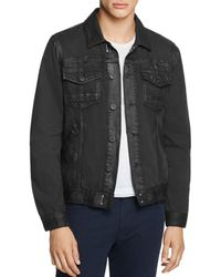 PAIGE - Coated-denim Scout Jacket - Lyst
