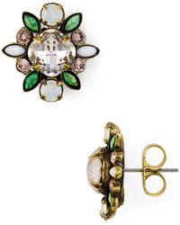 Sorrelli - Starburst Cluster Stud Earrings - Lyst