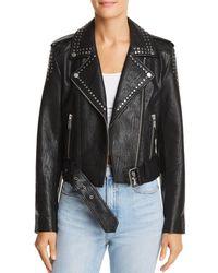Pistola - Tracy Cropped Moto Jacket - Lyst