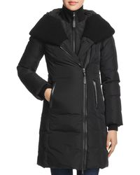 Mackage - Brigid Knit Trim Down Coat - Lyst