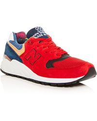 New Balance Men's 999 Classic Mixed Media Lace Up Sneakers vHjd4BeE21