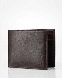 Ralph Lauren - Polo Pebbled Passcase - Lyst