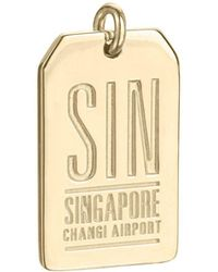 Jet Set Candy - Sin Singapore Luggage Tag Charm - Lyst