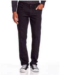 John Varvatos | John Varvatos Usa Bowery Straight Fit Jeans In Black | Lyst