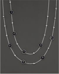 Ippolita | Sterling Silver Rock Candy Mini Lollipop And Ball Necklace In Black Onyx | Lyst