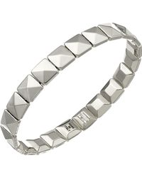 Chimento - 18k White Gold Armillas Collection Square Link Bracelet - Lyst