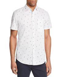 Sovereign Code - Lightning-print Pismo Short-sleeve Shirt - Lyst