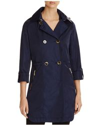 T Tahari | Mason Double-breasted Trench Coat | Lyst