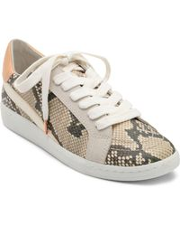 save off 4dc7b 56976 Dolce Vita - Womens Nino Animal Print Low Top Sneakers - Lyst