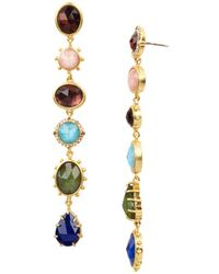 Kate Spade - Multicolor Linear Drop Earrings - Lyst