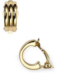 Ralph Lauren - Lauren Clip-on Earrings - Lyst