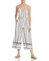 Dolce Vita - Scorpion Striped Jumpsuit Swim Cover-up - Lyst