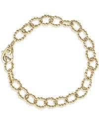 Lagos - Caviar Gold Collection 18k Gold Link Bracelet - Lyst