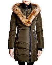 Mackage | Kay Lavish Fur Trim Down Coat | Lyst