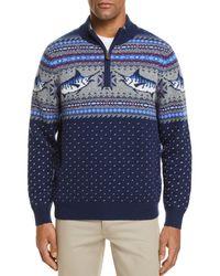 Vineyard Vines - Marlin Pattern Quarter-zip Sweater - Lyst