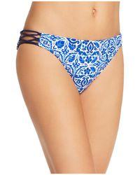 Nanette Lepore | Talavera Charmer Bikini Bottom | Lyst