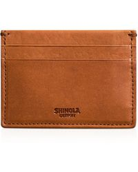 Shinola - Leather Card Case - Lyst