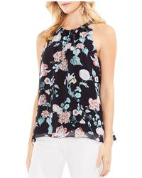 Vince Camuto - Floral Gardens Blouse - Lyst