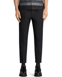 AllSaints - Tallis Slim Fit Dress Pants - Lyst
