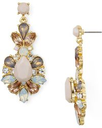 Aqua - Starburst Drop Earrings - Lyst