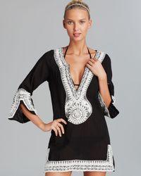 Debbie Katz - Shanti Mirror Cotton Gauze Tunic Swim Cover Up - Lyst