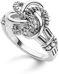 Lagos - Sterling Silver Love Knot Ring - Lyst