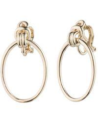Ralph Lauren - Lauren Door Knocker Clip-on Earrings - Lyst