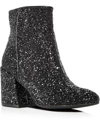 Kenneth Cole - Randii Glitter Booties - Lyst