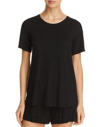 Natori - Feathers Elements Short Sleeve Top - Lyst