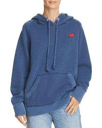 Rag & Bone - Racer Lips Hooded Sweatshirt - Lyst