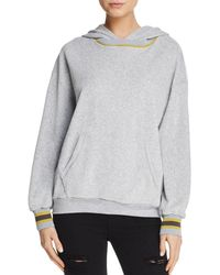 Project Social T - Nixon Velour Hooded Sweatshirt - Lyst
