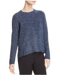Eileen Fisher - Marled Organic Cotton Jumper - Lyst
