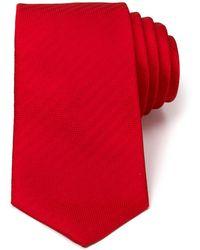 Turnbull & Asser - Solid Herringbone Classic Tie - Lyst