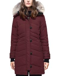 Canada Goose - Lorette Coyote Fur Trim Down Coat - Lyst