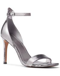ba6acf22d34 Michael Michael Kors Clarissa Caged Platform High Heel Sandals - Lyst