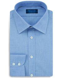 Hilditch & Key - End-on-end Regular Fit Dress Shirt - Lyst