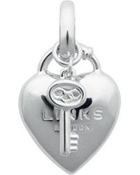 Links of London - Heart Padlock & Key Charm - Lyst