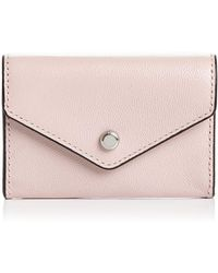 Rebecca Minkoff - Small Leather Key Ring Wallet - Lyst