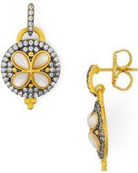 Freida Rothman - Fleur Bloom Drop Earrings - Lyst