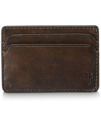 Frye - Oliver Leather Id & Card Case - Lyst