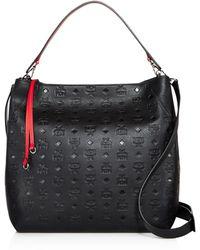 MCM - Klara Monogram Large Leather Hobo - Lyst