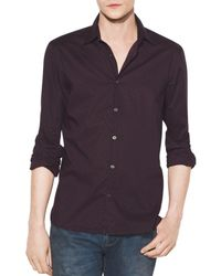 John Varvatos - Printed Regular Fit Shirt - Lyst